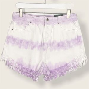 NWT Wild Fable tie dye high waisted shorts